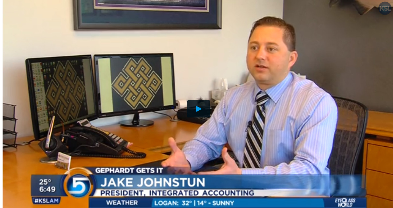 Integrated Tax Accounting's Jake Johnstun interviewed on KSL.com